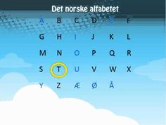▶ Learn Norwegian- The Norwegian Alphabet Det norske alfabetet - YouTube