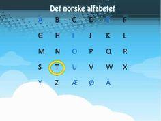 ▶ Learn Norwegian- The Norwegian Alphabet Det norske alfabetet - YouTube