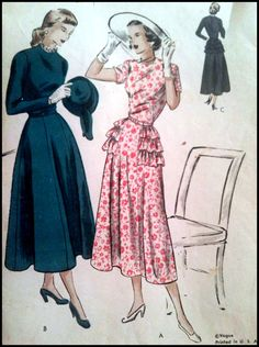 Vogue 3221  OnePiece Dress Vintage RARE Pattern by ThePatternShopp, $90.00