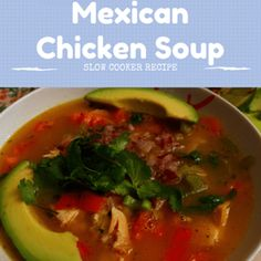 Rachael Ray: Rick Bayless Slow Cooker Mexican Chicken Soup Recipe