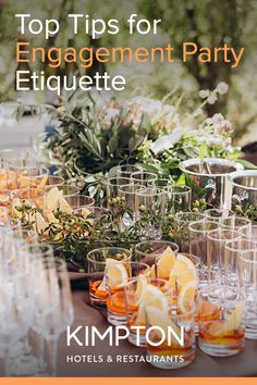 Some of our best engagement party etiquette tips, as well as ideas for engagement party attire, engagement party themes, and engagement party locations and venue options. Engagement Party Etiquette, Engagement Party Themes, Budget Wedding, Wedding Planner, Our Wedding, Work Gifts, Save The Date Magnets, Party Venues, Second Weddings