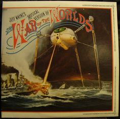 Jeff Wayne's Musical Version of The War of the Worlds Double LP, Original recording