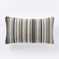 Margo Selby Mini Blocks Cushion Cover - Horseradish