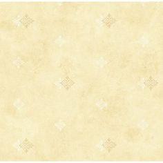 "Brewster Home Fashions 33' x 20.5"" Diamond Medallion Wallpaper Color:"