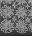 Possible LDS Temple altar cloth--Queen Anne's Lace Tablecloth
