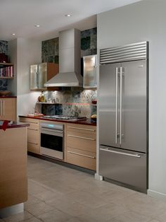 Sub Zero Wolf koelkast french doors