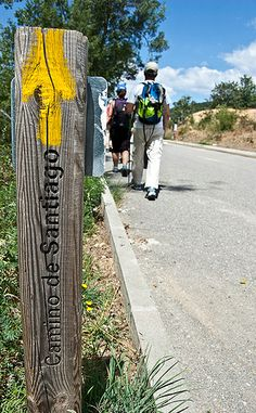 Camino de Santiago, on the way of St James