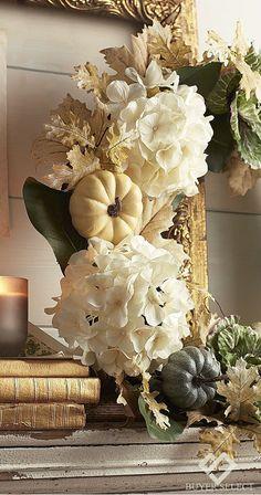 Cabbage Hydrangea Wreath