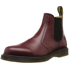 6a8bb9948e8 Dr martens 2976 smooth last 261 scarpe a collo alto unisex adulto rosso