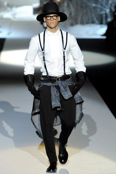 Dsquared² Fall 2011 Menswear Collection Slideshow on Style.com