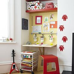 Cheap Decorating Ideas For Every Room in Your House | Set aside space for kids | AllYou.com
