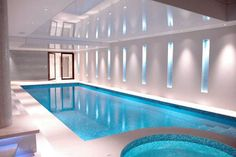 Click to enlarge image David Bagley- minimalistic indoor pool with ...