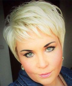 Discount Hair And Beauty Hairstyles For Fat Faces, Short Hairstyles For Women, Hairstyles Haircuts, Pretty Hairstyles, Short Thin Hair, Short Grey Hair, Short Hair Cuts For Women, Short Hair Styles, Blonde Hair Makeup