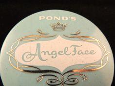 Vintage Pond's Angel Face Tawny Angel Face Powder Original Price tag