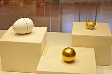 The Jeweled Hen Egg is a Tsar Imperial Fabergé egg, the first in a series of fifty-four jeweled eggs made under the supervision of Peter Carl Fabergé for the Russian Imperial family. It was made and delivered to Tsar Alexander III of Russia in 1885.