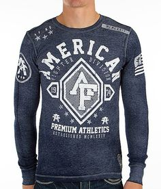 """American Fighter Bennington Thermal Shirt"" www.buckle.com"