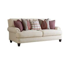 FIRESIDE SHORT SOFA from the Fireside Custom Upholstery collection by Henredon Furniture