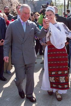 Yes, You Do Need to Watch This Video of Prince Charles Dancing in Romania