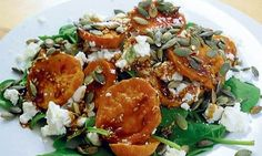 The great G2 recipe swap: Sweet potato, spinach and feta salad ...