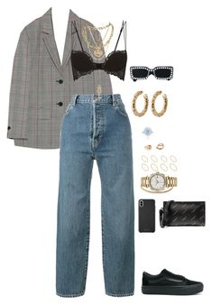 """Untitled #778"" by klayvic ❤ liked on Polyvore featuring Cartier, Vans, Carole Shashona, Vetements, La Perla, Wouters & Hendrix, Maria Tash, Luv Aj, Rolex and Tiffany & Co."