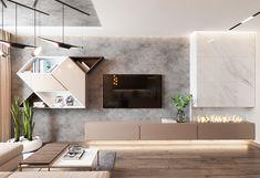 Interior Design,Visual Effects Ceiling Design Living Room, Room Door Design, Kitchen Room Design, Modern Kitchen Design, Living Room Designs, Small Apartment Interior, Living Room Interior, Home Living Room, Home Interior Design