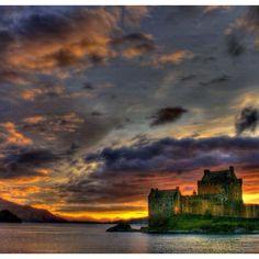 Magical looking Eilean Donan castle, Scotland