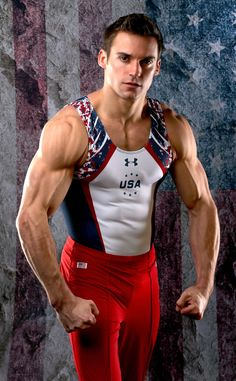 Sam Mikulak from 2016 U.S. Olympic Portraits  GymnastNEXT GALLERY: Sweatin' With the Stars