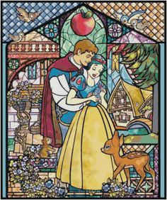 Cross Stitch Pattern DISNEY Snow White by SUNSHINEYDAY0630