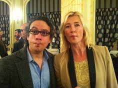 La gran actriz Ana Duato de la serie #Cuentame de TVE también se ha atrevido a hacer #Carapez con Luis Del Valle. Todo un honor #Fishface