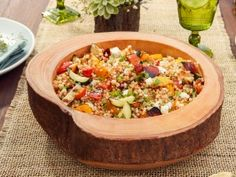 Grilled Vegetable Couscous Salad from CookingChannelTV.com