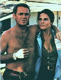 Ali McGraw cheated on husband, Robert Evans, with co-star ... Ali Macgraw And Steve Mcqueen