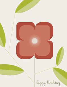 """From our """"Bloomin' Modern"""" Collection: http://www.modernpapergoods.com/catalog?searchText=bloomin"""