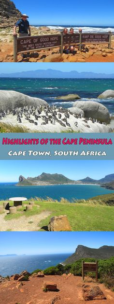 Photo Highlights of the Cape Peninsula, Cape Town, South Africa  #Capetown #southafrica