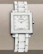 fendi ceramic bracelet watch