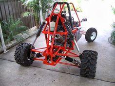 ¿Alguna vez has pensado construir Tu propio Bugui (Buggy) Go- Kart Arenero? Ahora puedes hacerlo con la ayuda de nuestros planos fáciles d... Go Kart Buggy, Off Road Buggy, Go Kart Off Road, Offroad, Kart Cross, Vw Beach, Go Kart Frame, Homemade Go Kart, Go Kart Parts