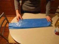 Come piegare i sacchetti della spesa... - YouTube