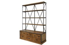 Shop shelving for commercial business
