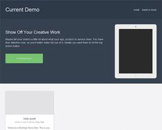 This free flat WordPress theme is designed for selling apps and software, and it's compatible with Page Builder.