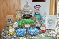 Western Baby Shower Candy Buffet | CatchMyParty.com