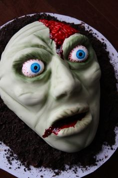 1000+ images about Zombie Cakes on Pinterest Zombie ...