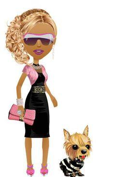 LBD, Lil pink Jacket. Pink rocker heels