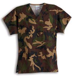 Camo Scrubs, Scrubs Uniform, Scrub Tops, Camouflage, Men Casual, Stylish, My Style, Nursing, Mens Tops