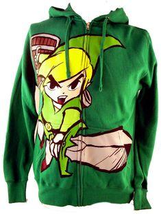 Revenue Robot | Legend of Zelda Mens Hoodie – Link in Action