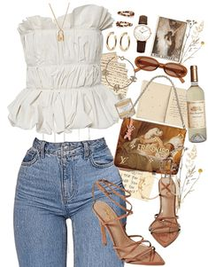 love song by lana del rey Outfit Sierrastevie on ShopLook Mode Outfits, New Outfits, Summer Outfits, Girl Outfits, Fashion Outfits, Cute Casual Outfits, Stylish Outfits, Lana Del Rey Outfits, Mode Geek
