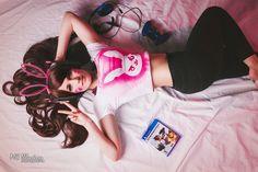 D'Va Gamer - Model Tish Cosplay  MC Illusion Photography