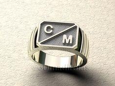 7b93339b0456 Las 13 mejores imágenes de anillos de hombre plata