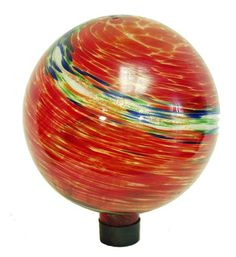 Echo Valley 8155 10-Inch Glow-in-the-Dark Illuminarie Glass Gazing Globe, Red Swirl Echo Valley $33.99 w/ Amazon Prime /Reviews state to buy for its color, not glowing feature. Need to think about it.