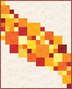 (7) Name: 'Quilting : Central Square: A Modern Quilt Design