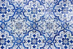 Typical Portuguese Tiles, Azulejos With Pattern Royalty Free Stock Photo, Pictures, Images And Stock Photography. Image 16060359.