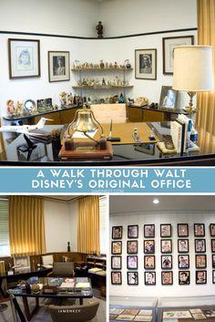 A Walk Through Walt Disney's Original Office